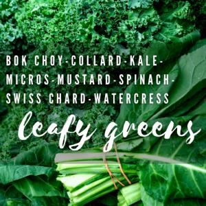 Superfood Leafy Greens